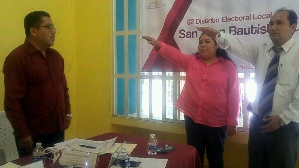 Rinde protesta Presidenta y Secretario del Consejo Municipal del IEEPCO