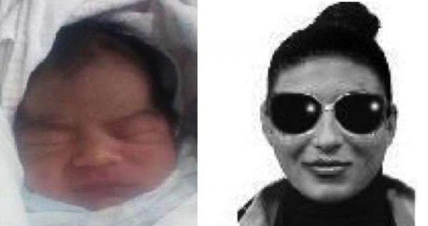 Un bebé de cinco días de nacido es robado de los brazos de su madre
