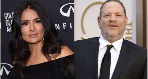 Harvey Weinstein responde a las acusaciones de Salma Hayek