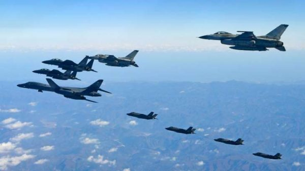 Dos aviones caza de Estados Unidos interceptan aeronaves rusas