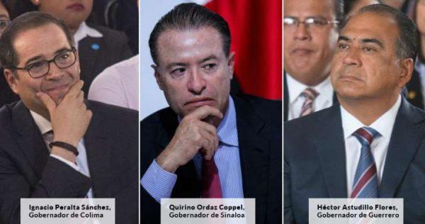 PRI gobierna los tres estados más inseguros del país