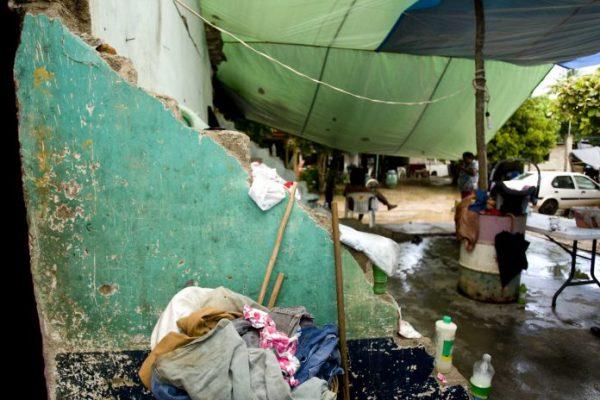 Damnificados reciben 15 mil pesos por vivienda demolida