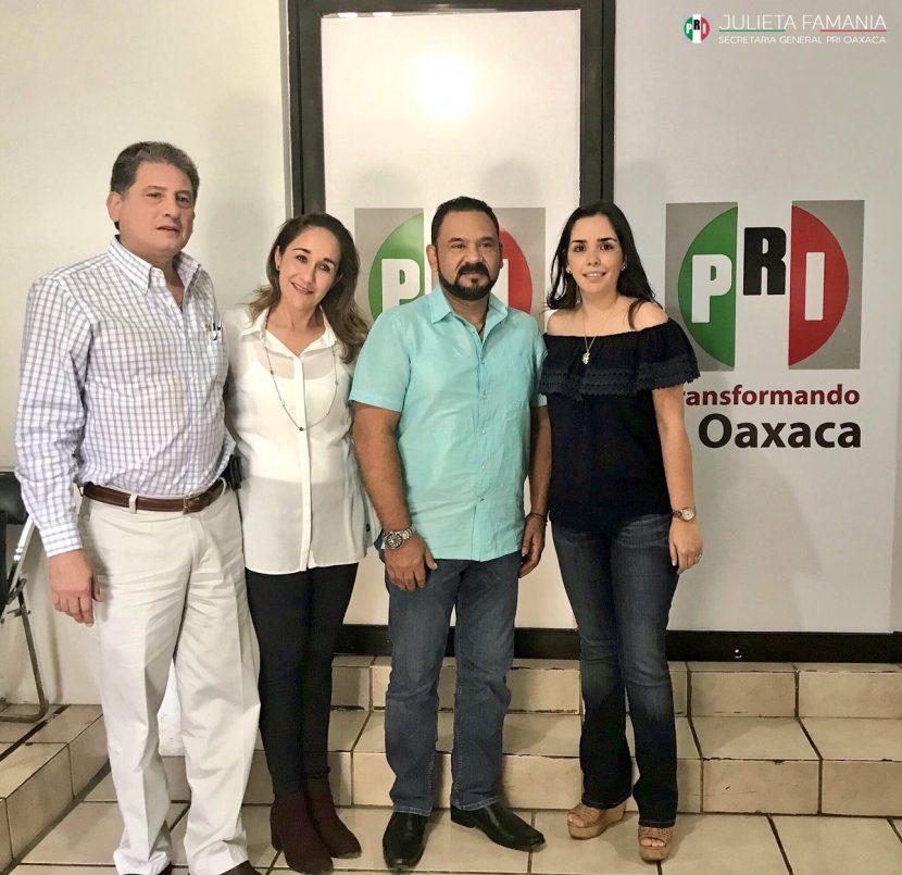 Confirman cambio de dirigencia del PRI en Tuxtepec