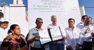 Fortalecen Gobiernos Estatal y Federal reconstrucción y reactivación económica del Istmo