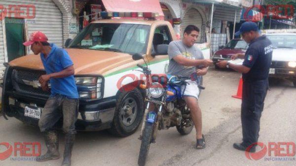 Realizarán operativos contra motociclistas que violen reglamento de tránsito
