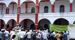 Regidores opositores, están a la espera de desaparición de poderes en Ojitlán