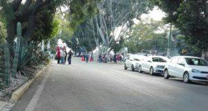 Pobladores de san Juan Mazatlán  continúan en el IEEPCO.