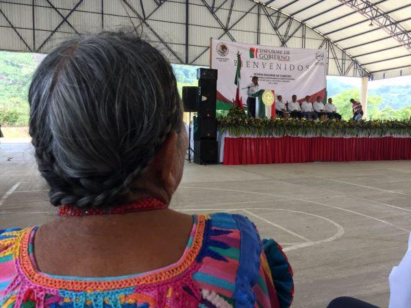 Edil de Usila rinde su 1er Informe de Gobierno