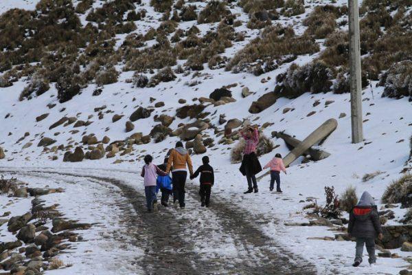 Se esperan nevadas por tercera tormenta invernal