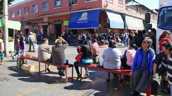 """""""Fuera sindicato"""" exigen locatarios del centro de Oaxaca"""