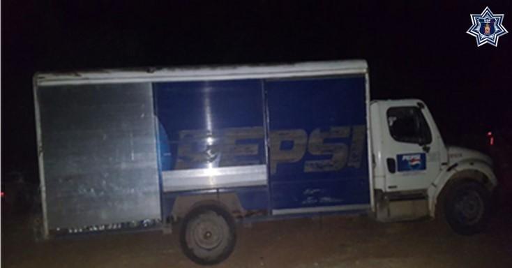 Recupera Policía Estatal automovil con reporte de robo de la Pepsi