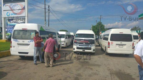 Piden taxistas que reubicación de urvans sea parte del reordenamiento vial