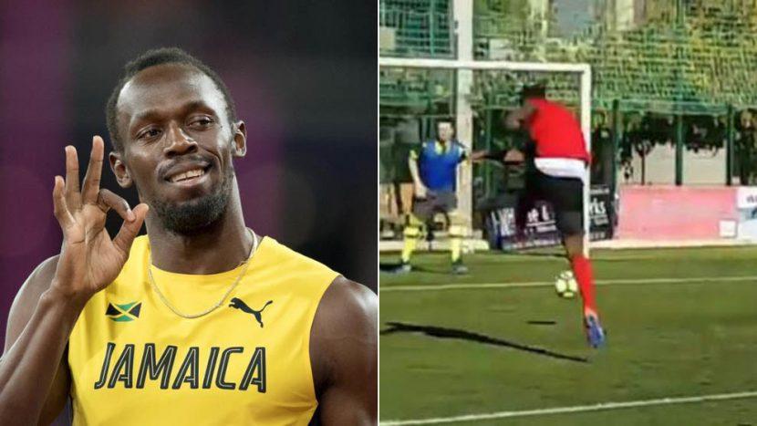 Usain Bolt probará con el Borussia Dortmund