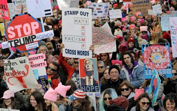 Miles repudian a Trump en todo el mundo, en primer año de gobierno