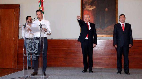 Murat nombra a Juan Díaz como nuevo Secretario de Salud