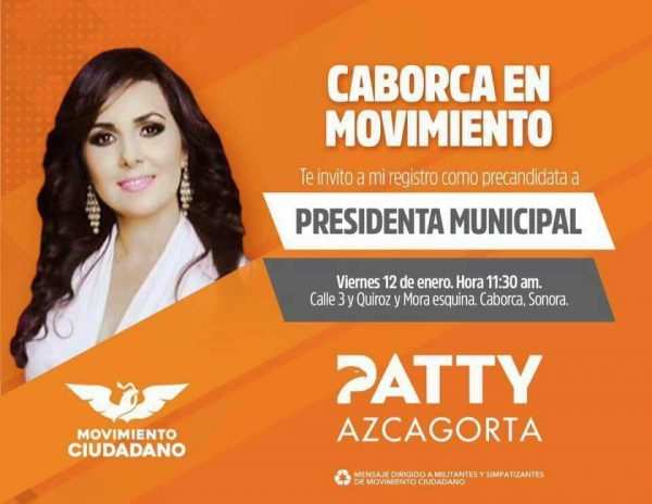 """""""Yo no soy la del video"""": precandidata de Movimiento Ciudadano en Caborca"""