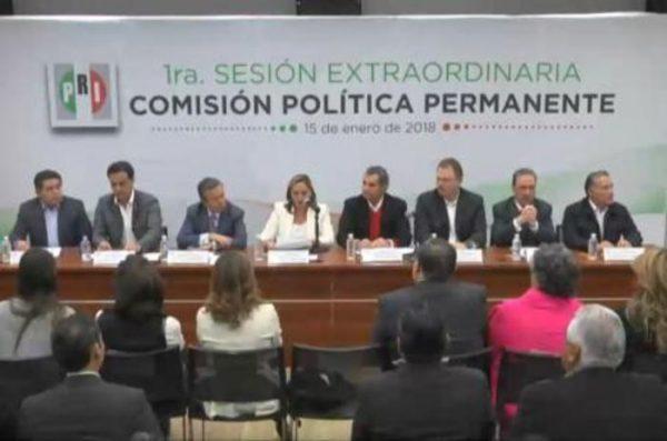 'Todos por México', nuevo nombre de coalición del PRI