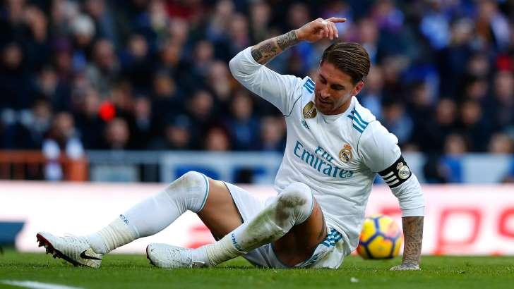 Sergio Ramos sufrió una lesión muscular