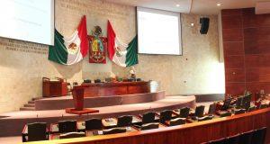 Suspendida sesión ordinaria en congreso local, ante impuntualidad de diputados