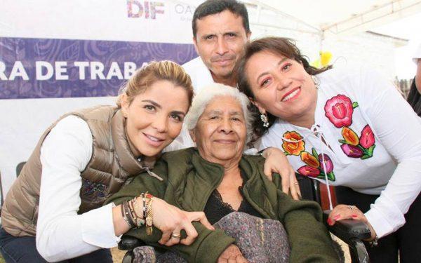 DIF Oaxaca vela por mejores condiciones para personas mayores en el Estado