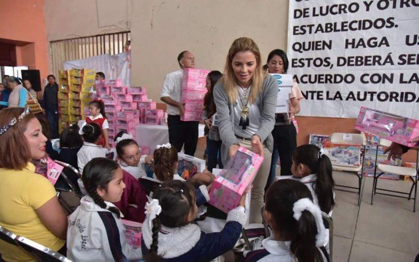 DIF Oaxaca convive con niñas y niños de Ejutla de Crespo