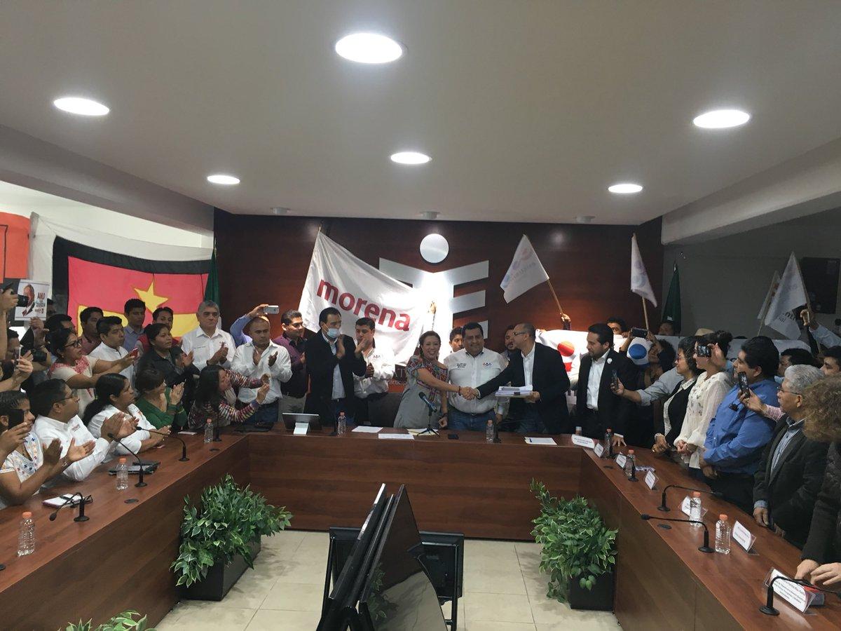 Advierten presiones en Morena para elegir candidato por la capital