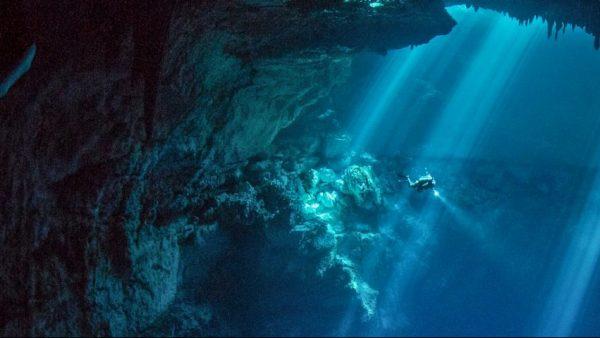 Encuentran el sitio arqueológico más grande del mundo bajo el agua en México