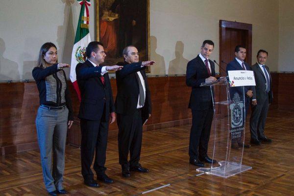 Anuncia Murat nuevos nombramientos en su gabinete