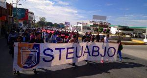 STEUABJO marcha a la JLCYA