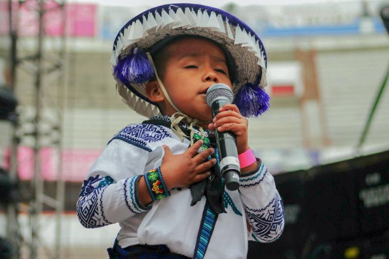 Yuawi, niño del spot de Movimiento Naranja, anuncia disco