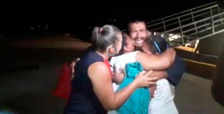 Llegan pescadores rescatados por la Semar a Huatulco