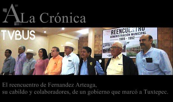 CRONICA – El reencuentro de Fernandez Arteaga, su cabildo y colaboradores, de un gobierno que marcó a Tuxtepec.