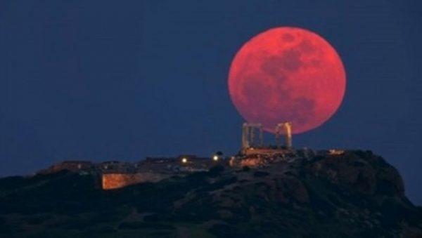 Superluna roja con eclipse el 31 de enero