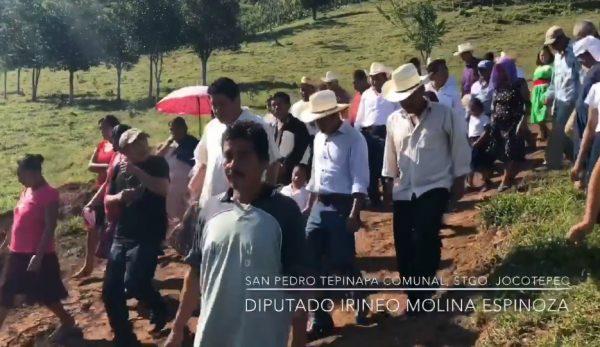 Irineo Molina inicia e inaugura obras en la Cuenca del Papaloapan