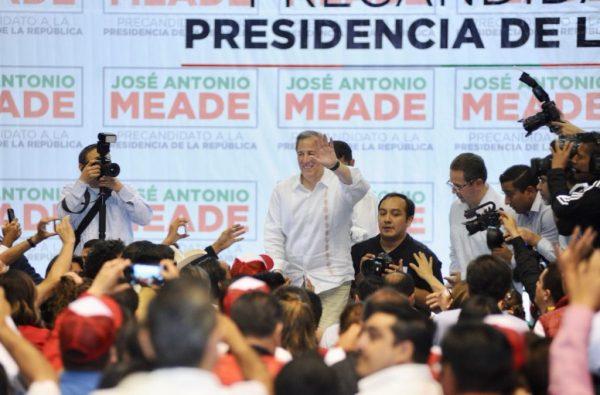"""Rechaza Meade surgimiento de """"candidato emergente"""""""