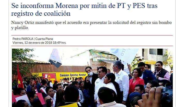 #ASILASCOSAS. Las primeras diferencias entre Morena,Pt y PES; mientras en Tuxtepec Laura y Marcos disputan.