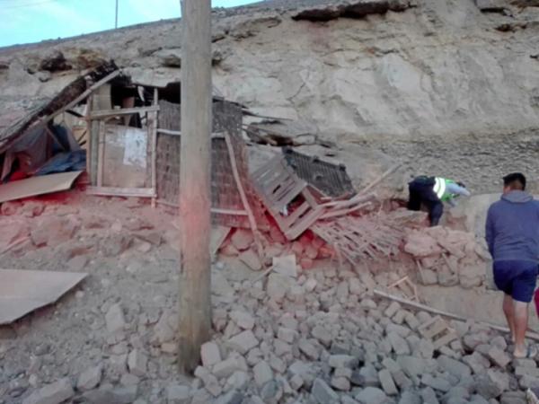 Sismo de 7.1 remece Perú; deja una persona muerta y más de 20 heridos