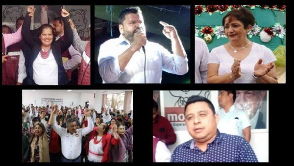Tuxtepecanos se registran como precandidatos en sus respectivos partidos