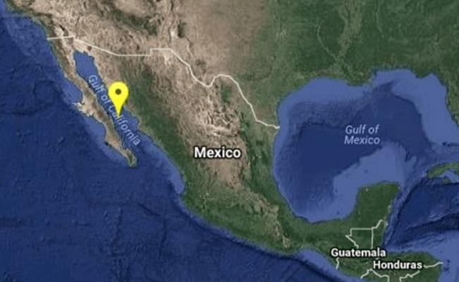 Se registra sismo de 6.3 grados en BCS