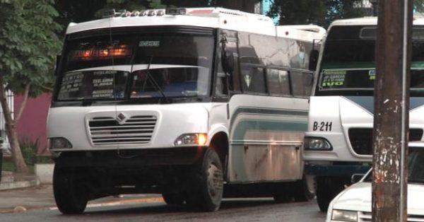 Se prevé aumento al transporte público