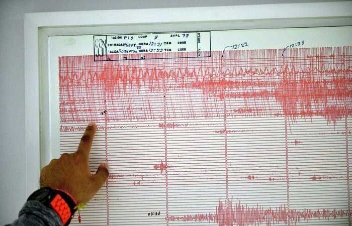 Van más de 4 mil réplicas del sismo del 16 de febrero
