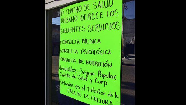 Habilitan servicios de salud alternos en Pinotepa Nacional