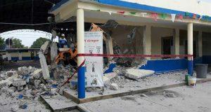 Sin recibir recursos del FONDEN, escuela Roberto Colorado afectada nuevamente por sismos