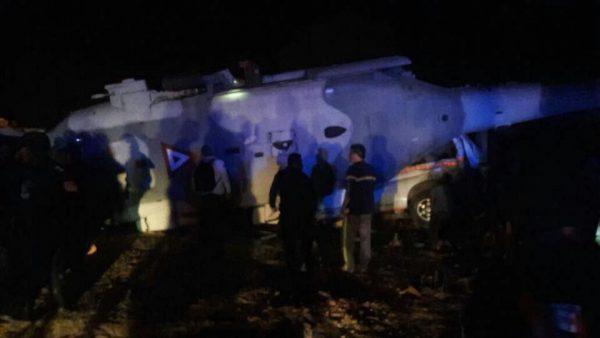 Cae helicóptero donde viajaban Navarrete Prida y Murat en Oaxaca