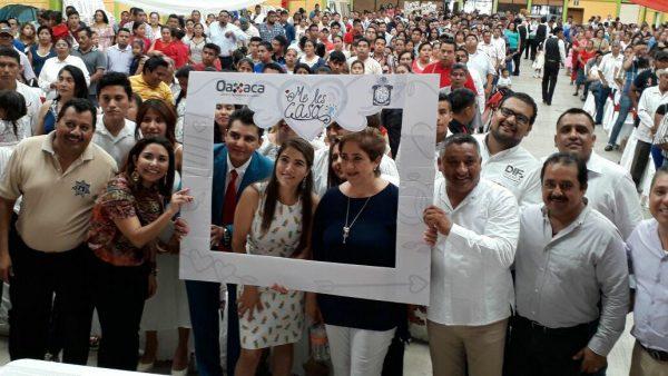 Sin apoyo del DIF Municipal, Registro Civil formaliza unión a 276 parejas