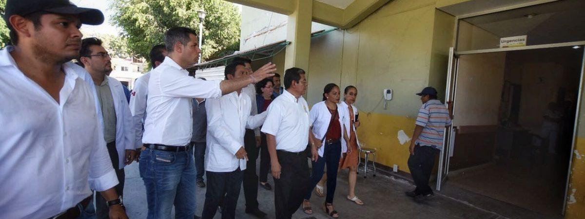 Supervisa  AMH afectaciones por sismo en Santiago Pinotepa Nacional