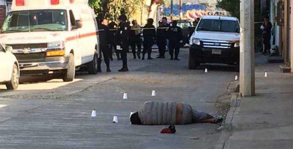 Acribillan a un individuo al sur de la Ciudad de Oaxaca