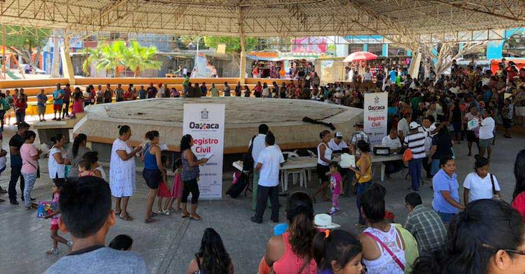 Expide registro civil actas de nacimiento gratuitas en municipios afectados por el sismo