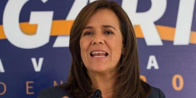 Margarita Zavala gastó más de lo que ingresó en precampañas