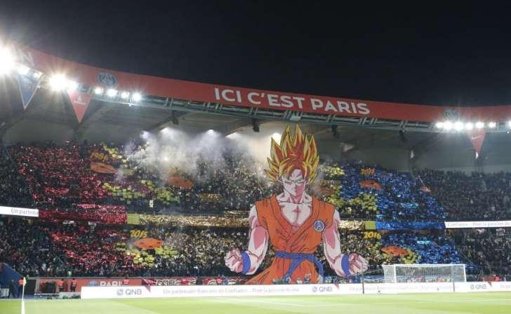 PSG reta al Marsella con mosaico de Gokú